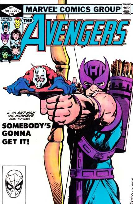 The Avengers #223