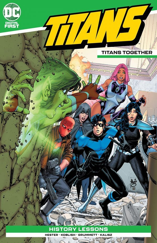 Titans: Titans Together Chapter #1 review