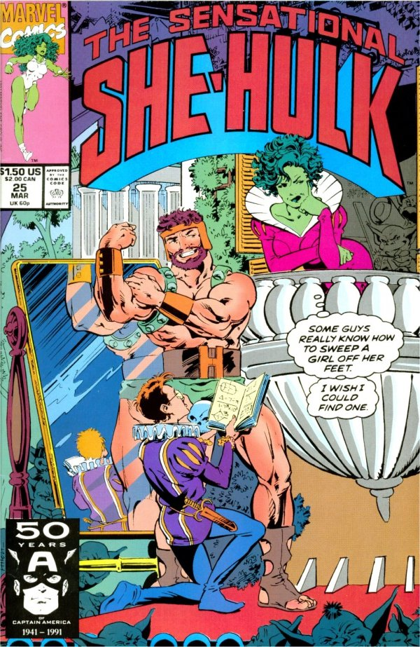 The Sensational She-Hulk #25