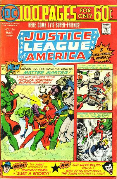 Justice League of America #116