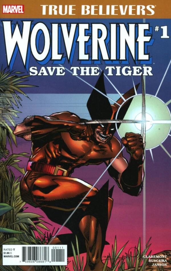 True Believers: Wolverine - Save Tiger #1