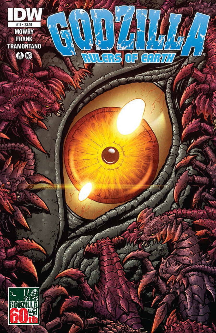 Godzilla: Rulers of Earth #11
