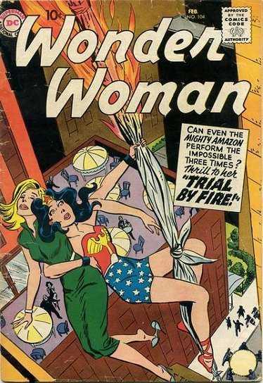 Wonder Woman #104