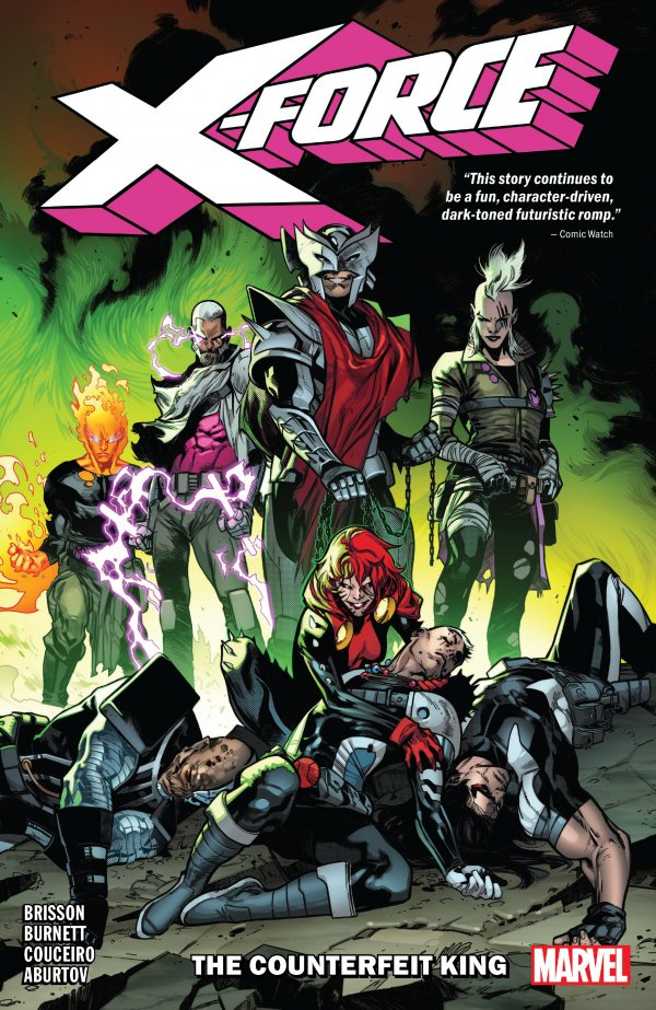 X-Force Vol. 2: The Counterfeit King TP