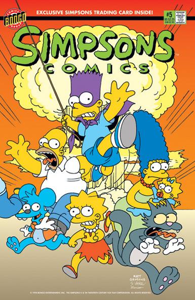 Simpsons Comics #5