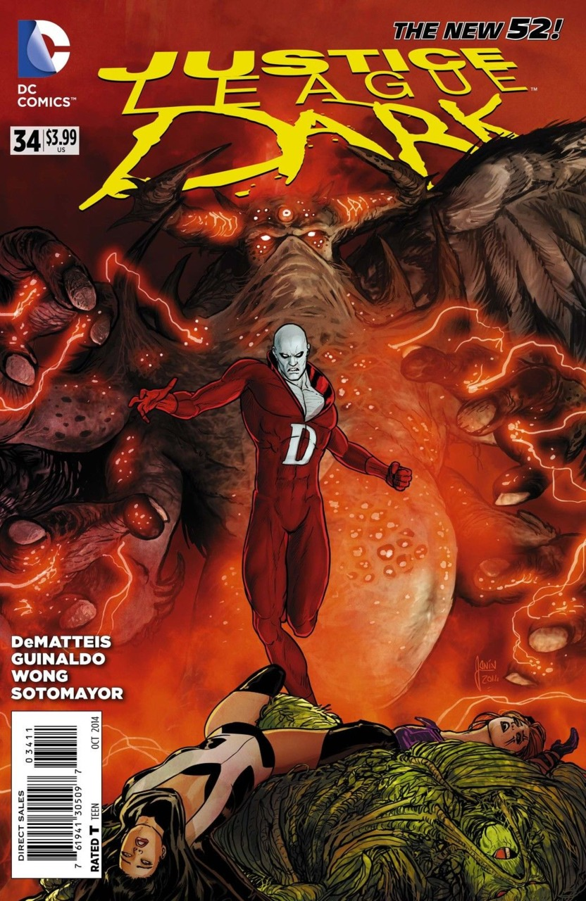 Justice League Dark #34