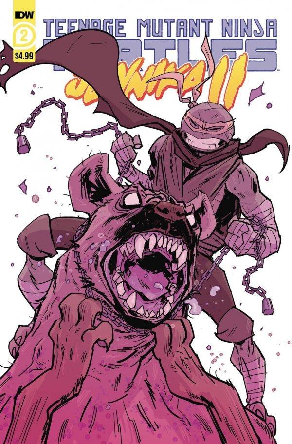 Teenage Mutant Ninja Turtles: Jennika II #2