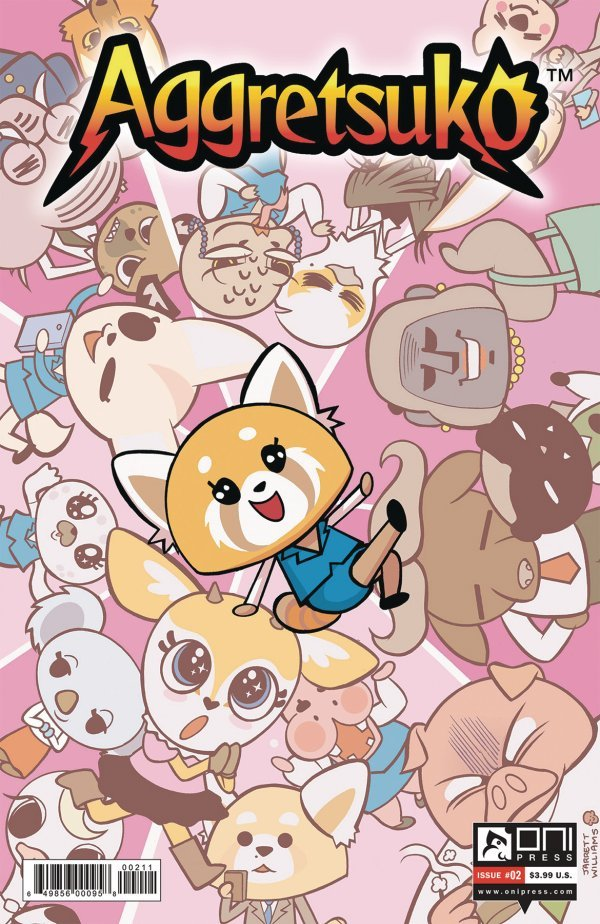 Aggretsuko #2 review