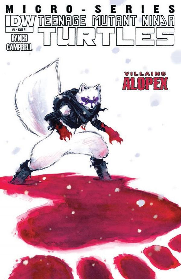 Teenage Mutant Ninja Turtles: Villains Micro-Series #4