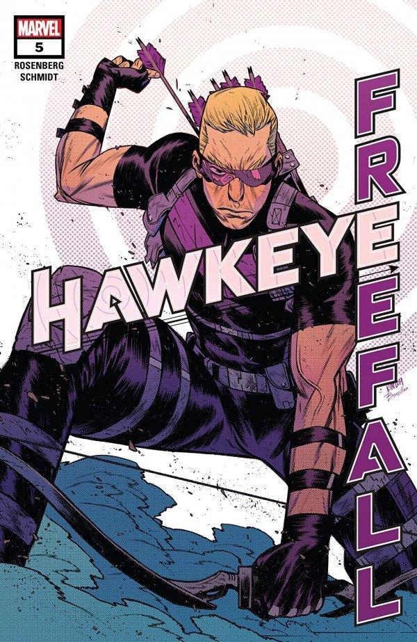 Hawkeye: Freefall #5: Digital-First Edition