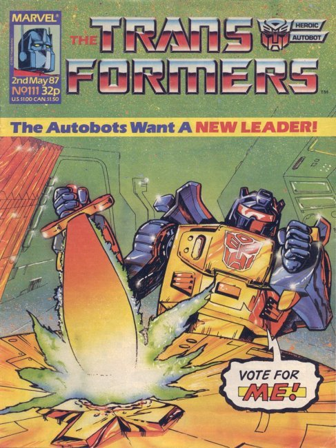 The Transformers #111
