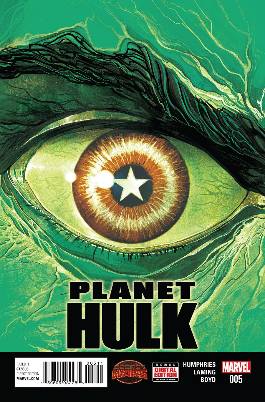 Planet Hulk #5