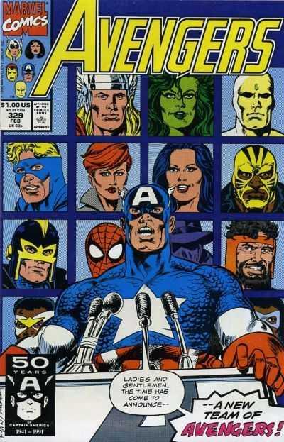The Avengers #329