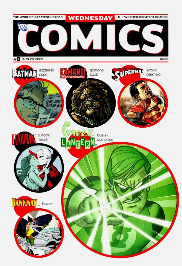 Wednesday Comics #8