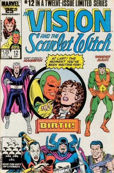 The Vision and the Scarlet Witch #12