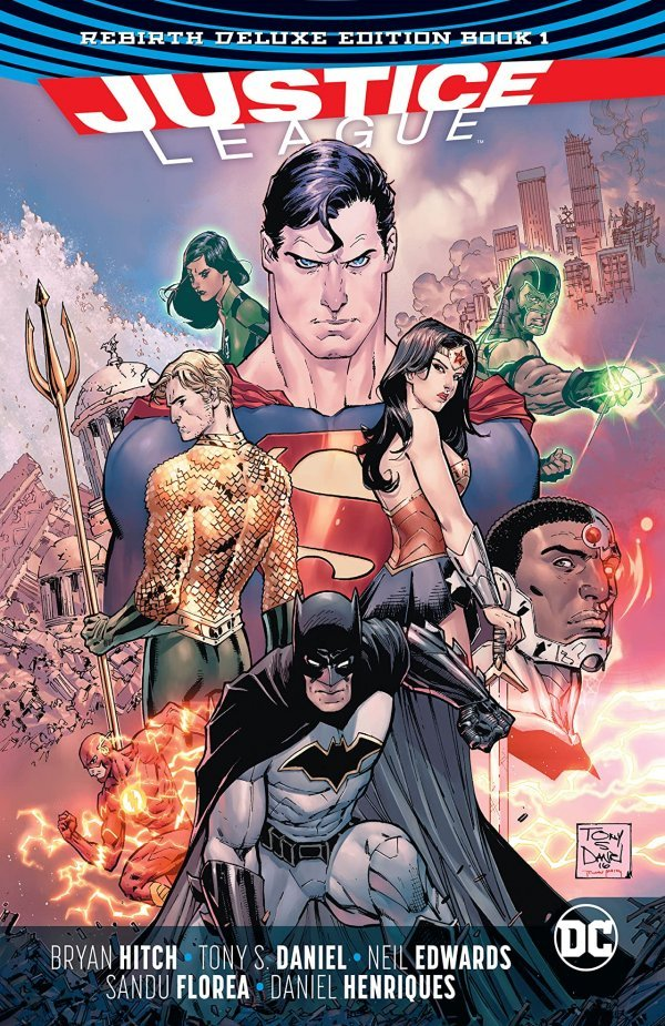 Justice League: The Rebirth Deluxe Edition Book One HC