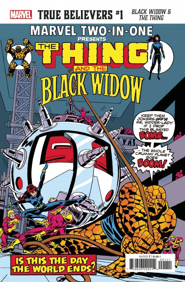 True Believers: Black Widow & The Thing #1