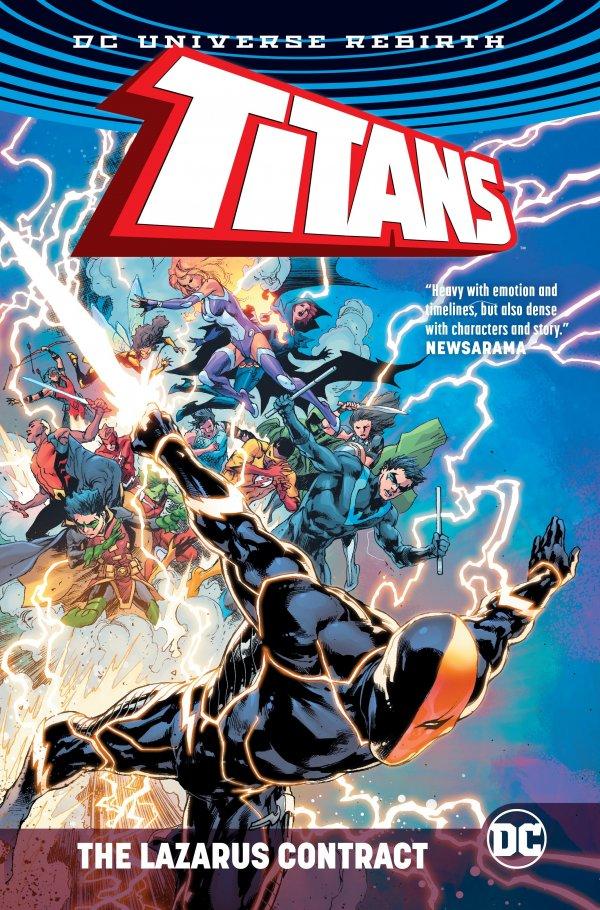 Titans: The Lazarus Contract HC