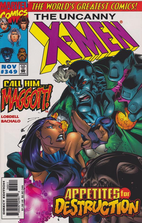 Uncanny X-Men #349
