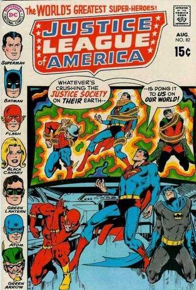 Justice League of America #82