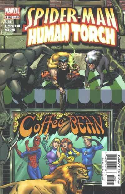 Spider-Man / Human Torch #2