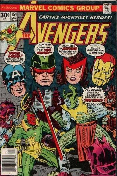The Avengers #154