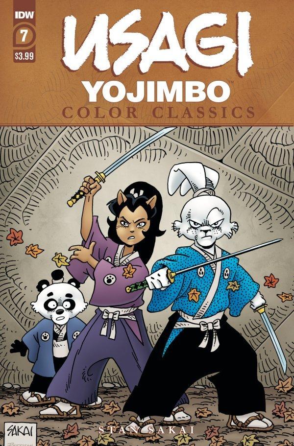 Usagi Yojimbo: Color Classics #7