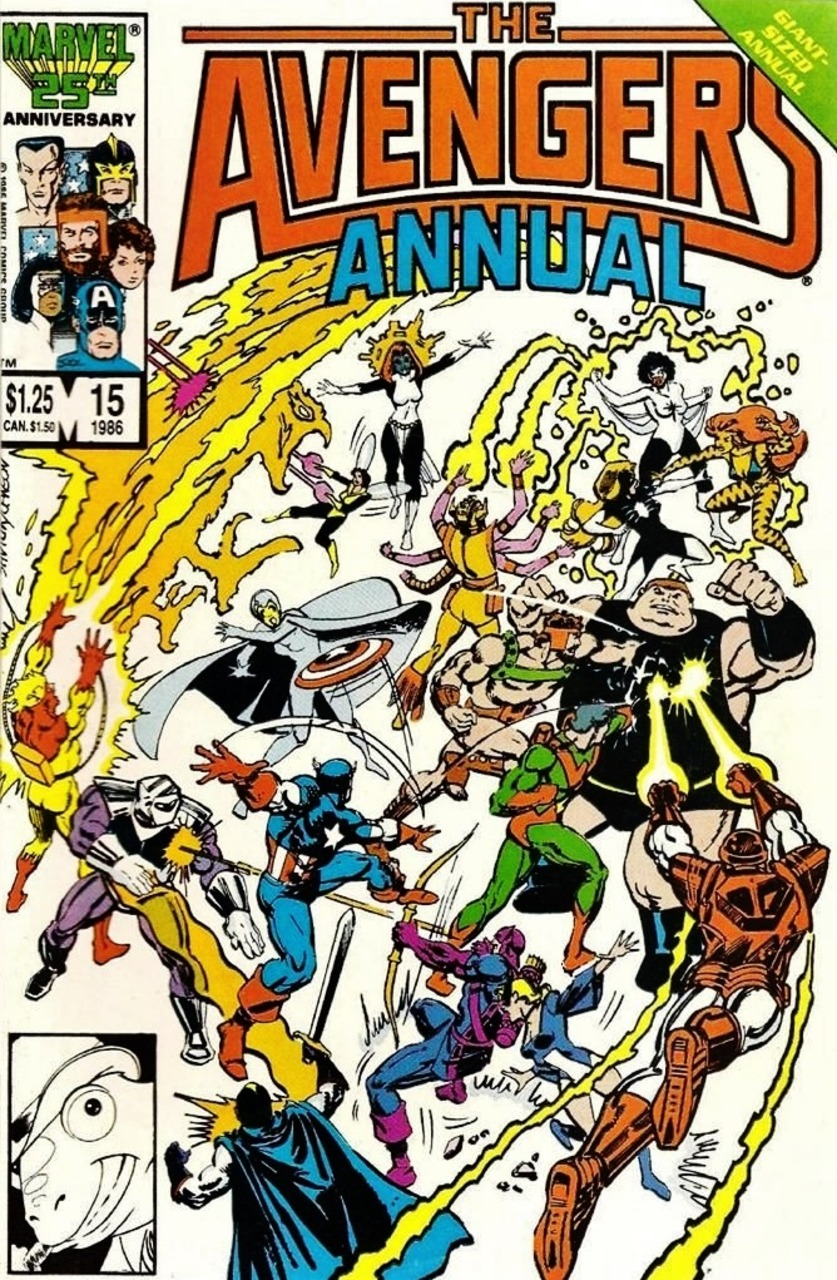 The Avengers Annual #15