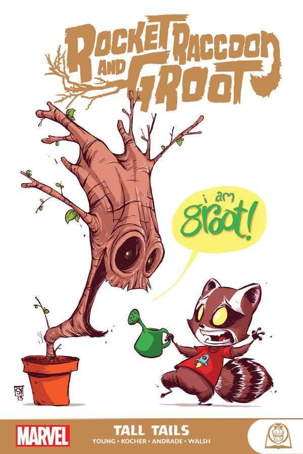Rocket Raccoon and Groot: Tall Tails TP