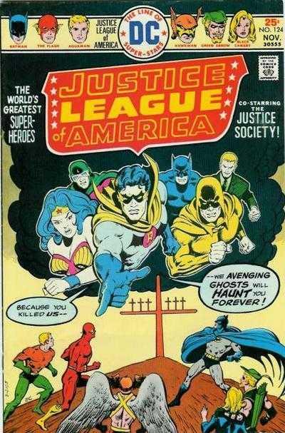 Justice League of America #124
