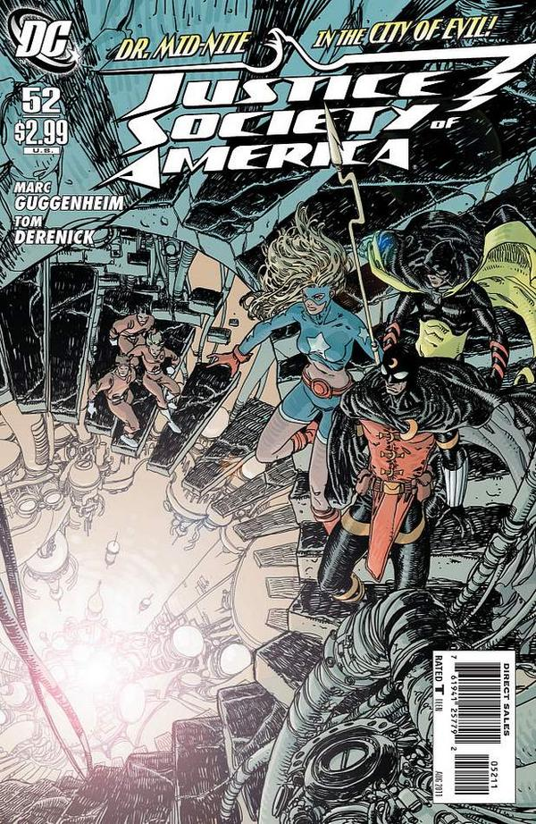 Justice Society of America #52