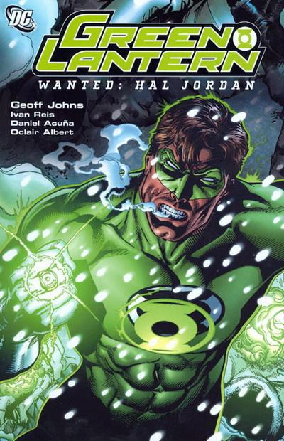 Green Lantern Wanted HC