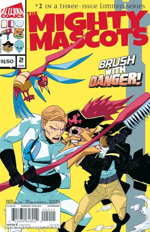 Mighty Mascots #2