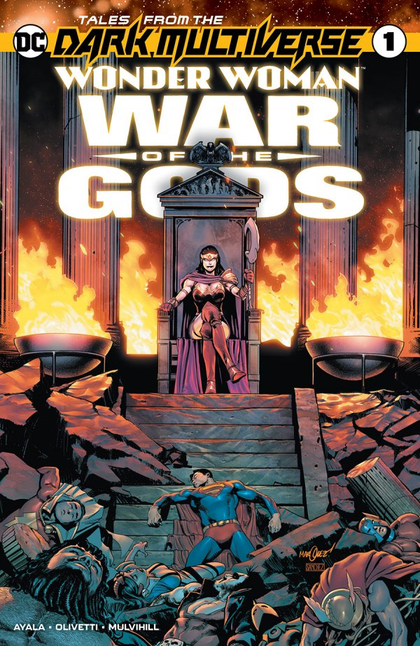 Tales From The Dark Multiverse: Wonder Woman: War of the Gods #1
