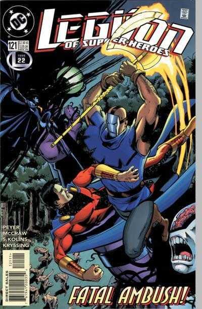 Legion of Super-Heroes #121