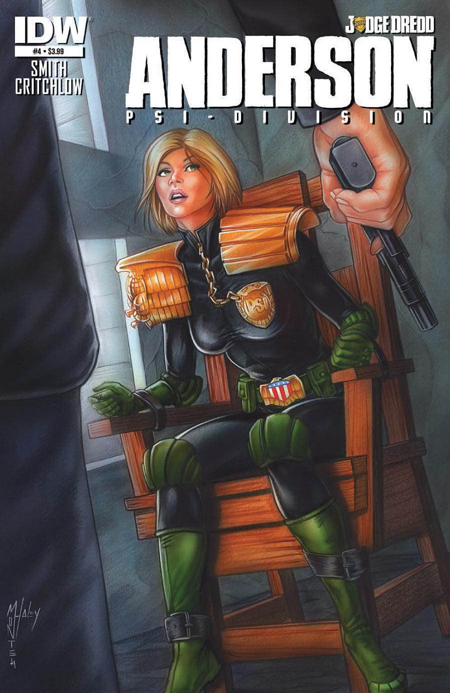 Judge Dredd: Anderson, Psi Division #4