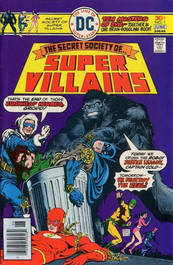 The Secret Society of Super-Villains #1