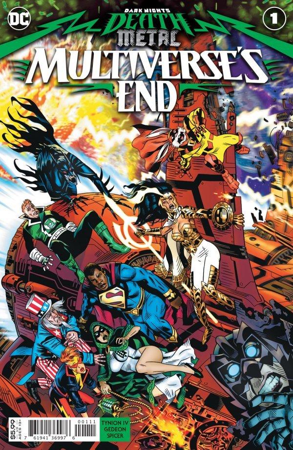 Dark Nights: Death Metal - Multiverse's End #1