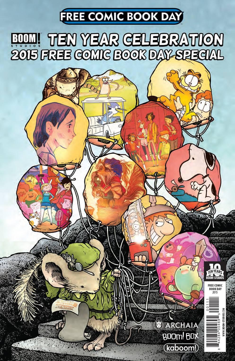 Free Comic Book Day 2015: Boom Studios 10th Anniversary Special #1