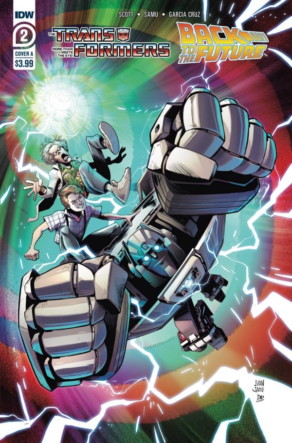 Transformers/Back To The Future #2