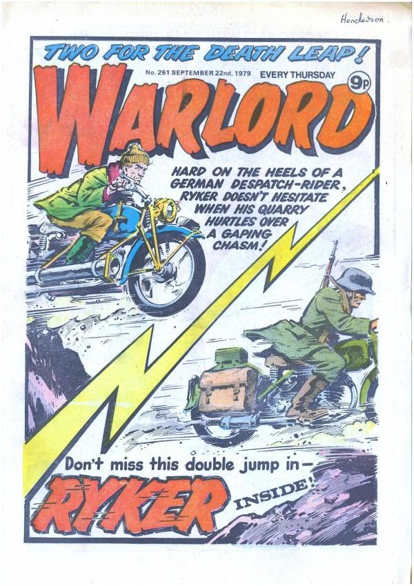 Warlord #261