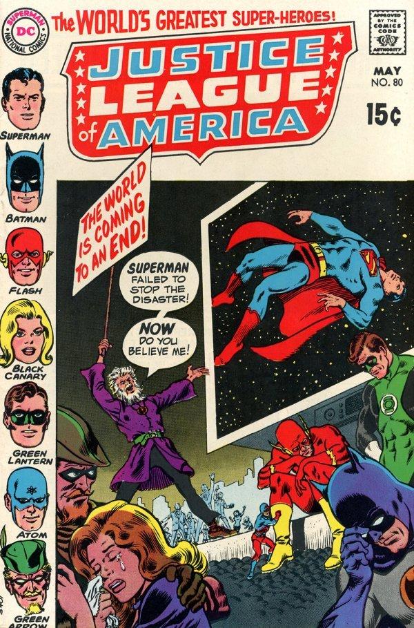 Justice League of America #80