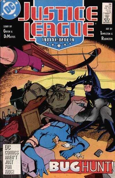 Justice League America #26