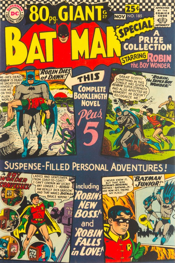 Batman #185