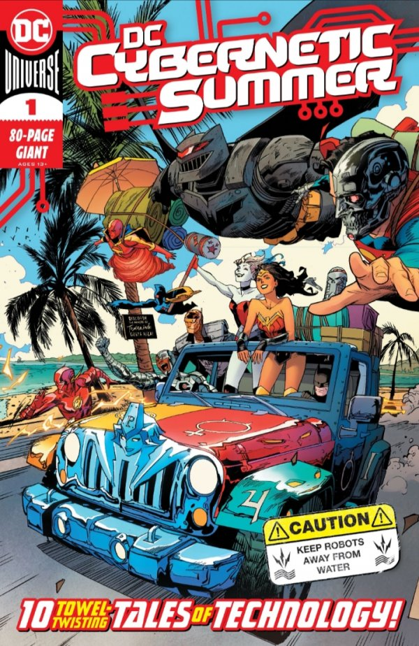 DC Cybernetic Summer #1