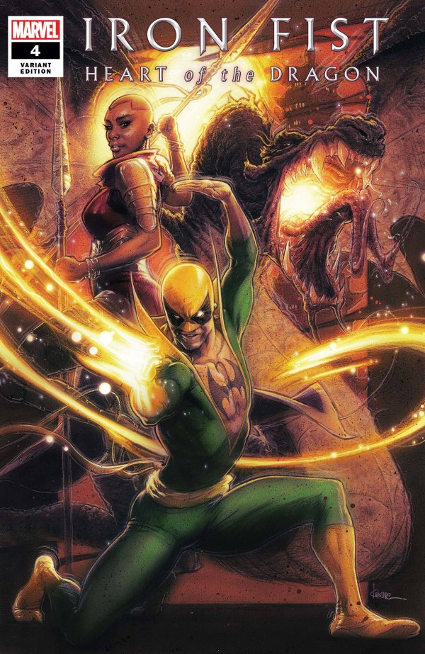 Iron Fist: Heart of the Dragon #4