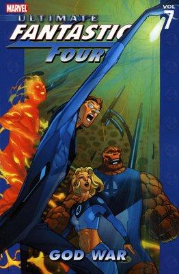 Ultimate Fantastic Four Vol. 7: God War TP