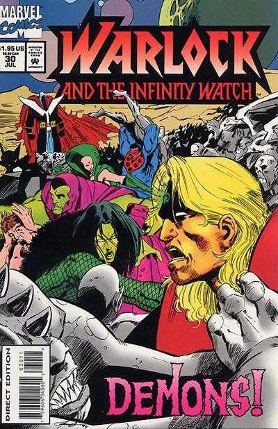 Warlock and the Infinity Watch #30