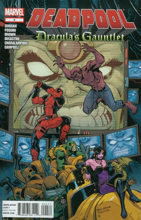 Deadpool: Dracula's Gauntlet #4