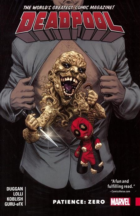 Deadpool Vol. 6: Patience: Zero TP